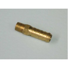 Brass Tank Fitting P3 1/2 Barb - 1/4 BSP Long