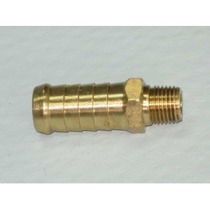 Brass Fitting P3 5/8 Barb - 1/4 BSP Long